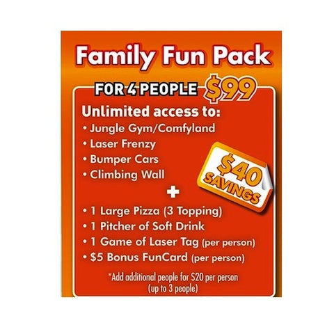 Funhaven Family Fun Pack