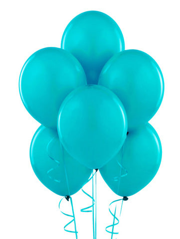 Teal Balloon Bouquet
