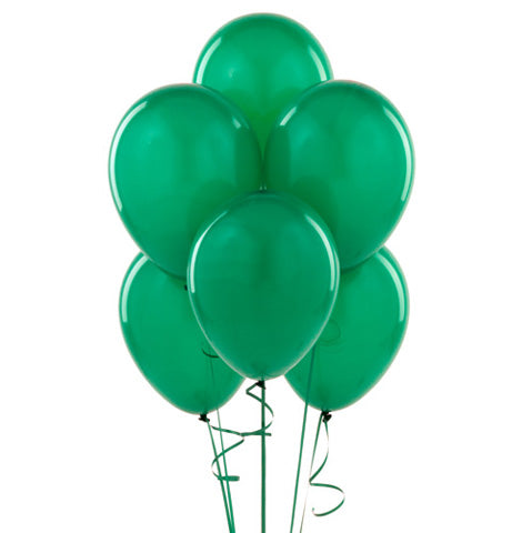 Green Balloon Bouquet