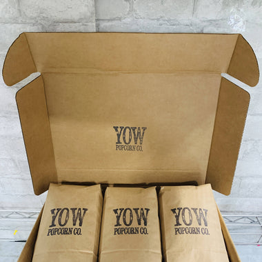 YOW Popcorn Co. Gift Box