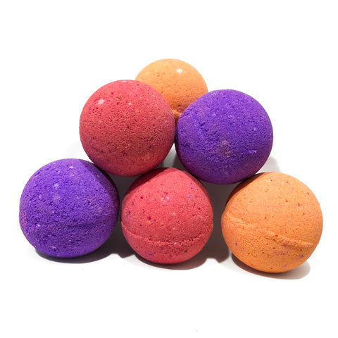 I am awesome - mini-bath bombs set, jelly bean