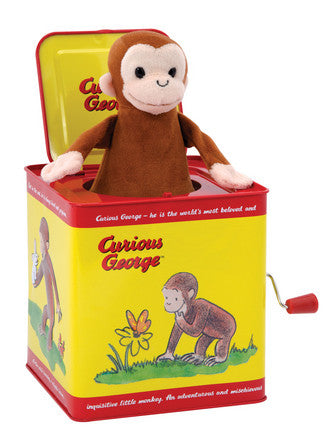 Curious George Jack N Box
