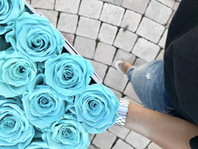 Real Roses That Last 2-3 Years! Tiffany Blue