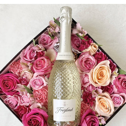 Prosecco Bloom Box