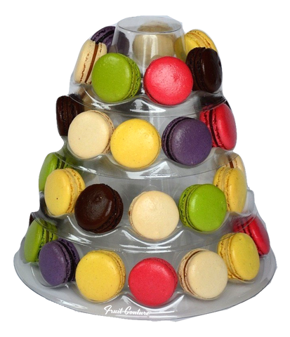 Macaron Tower - Front Faced