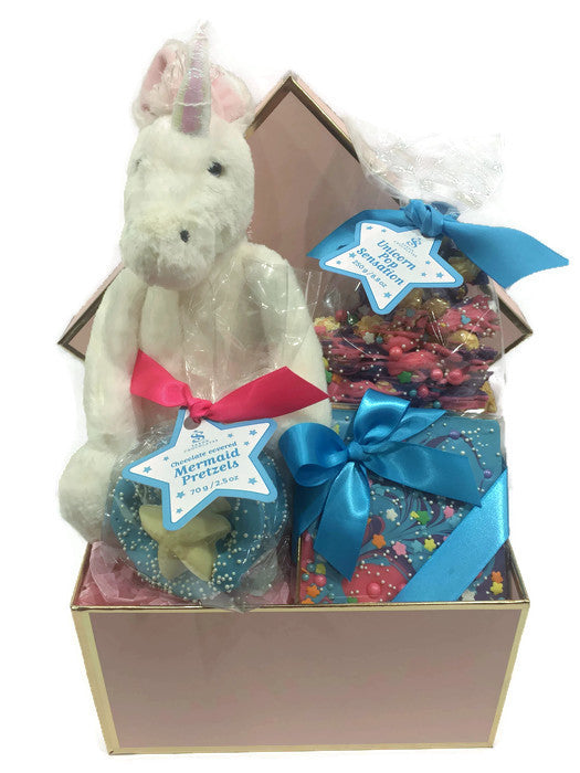 Mythical Creatures Gift Basket