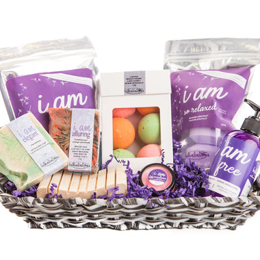 i am loved – ultimate self-care basket