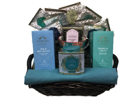 Tea Lover's Gift Basket