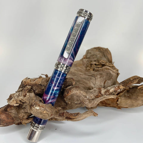 Blue Ocean Fountain or Rollerball Pen