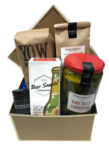 Weekend Snacks Gift Basket