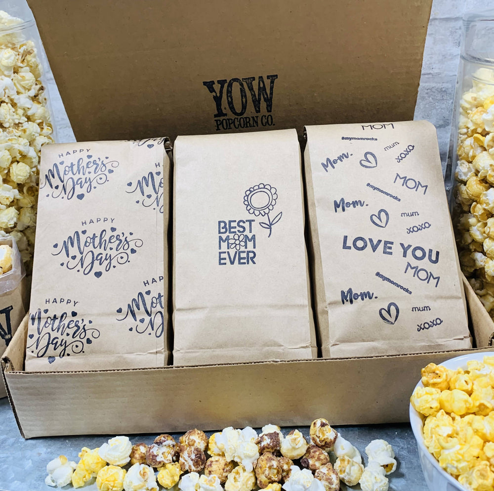 Mother's Day Popcorn Gift Box