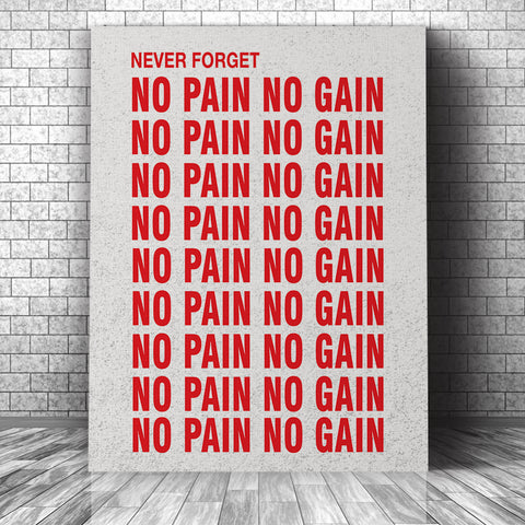 Never Forget - No Pain