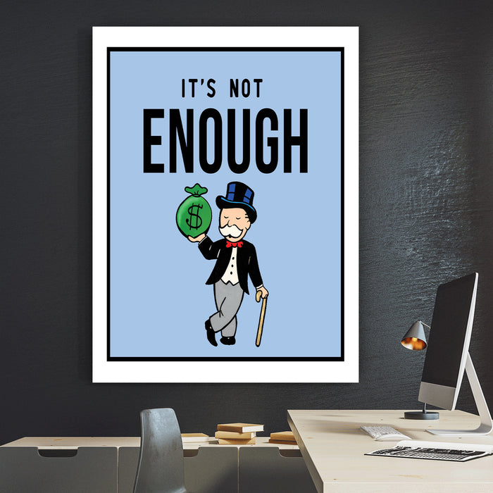 It´s not enough