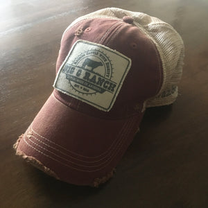His & Hers Vintage-Like Trucker Hat