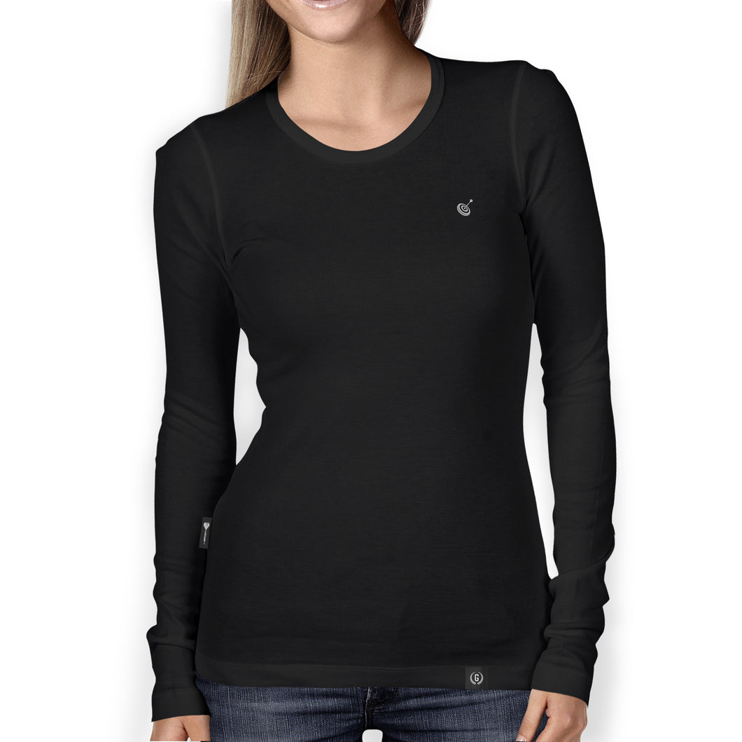 Goals Supply Organic Womens Heavyweight Long Sleeve T Shirt