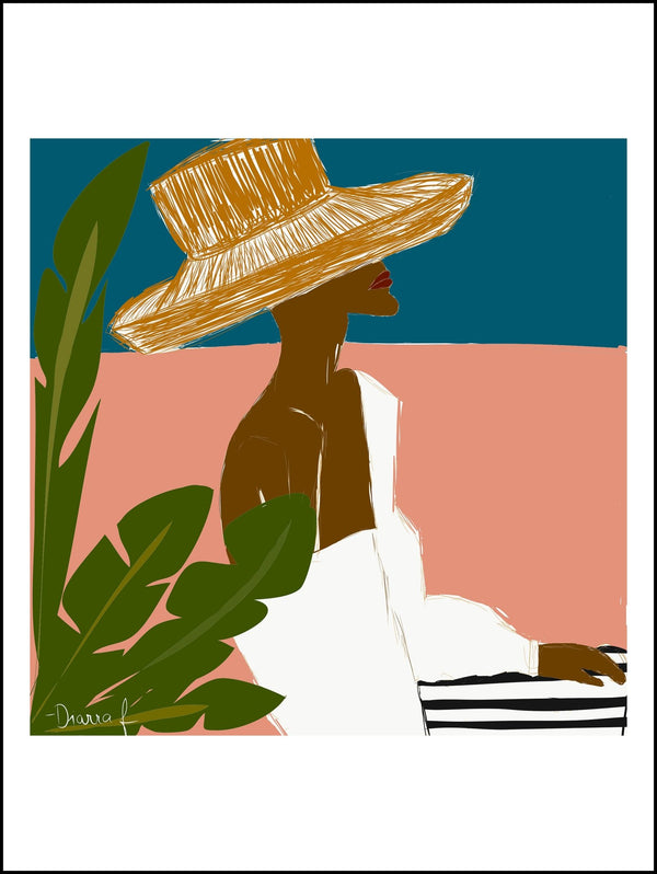 Dallu in Cartagena | Art Print - diarrablu