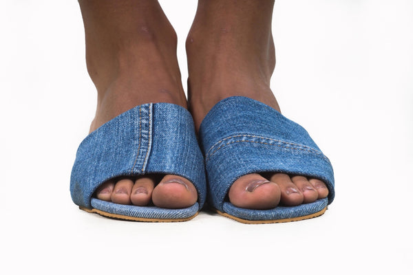 Denim Slides - diarrablu