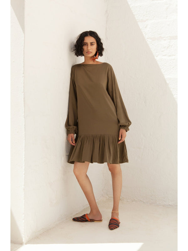 Kali Dress - Olive - diarrablu