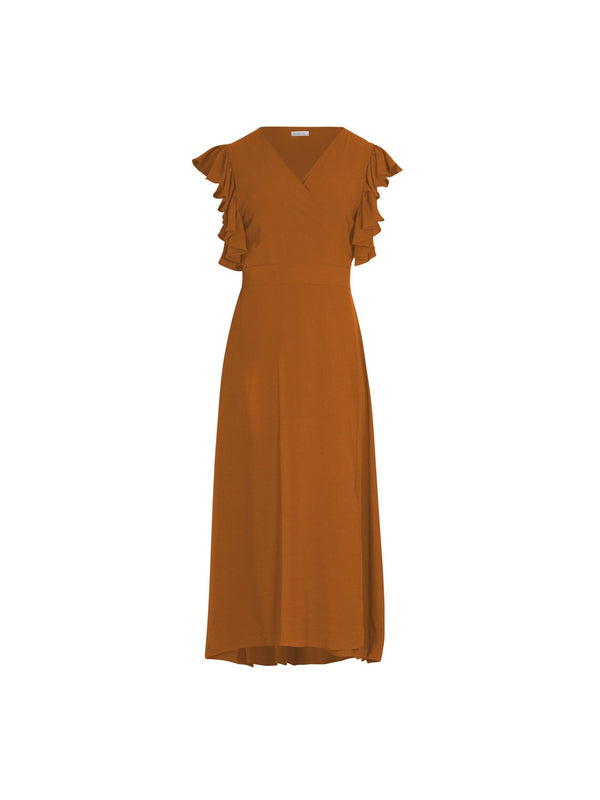 Rukia Dress RUST - diarrablu