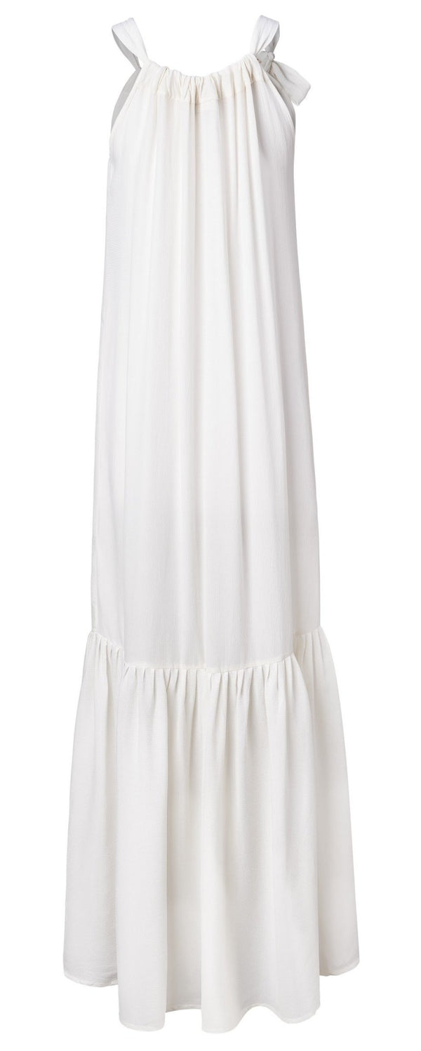 Sustainable Gnoor Dress - Blanc - diarrablu
