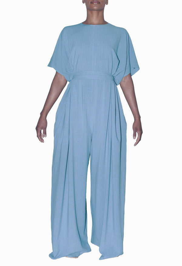 Sustainable Pino Jumpsuit - Blu - diarrablu