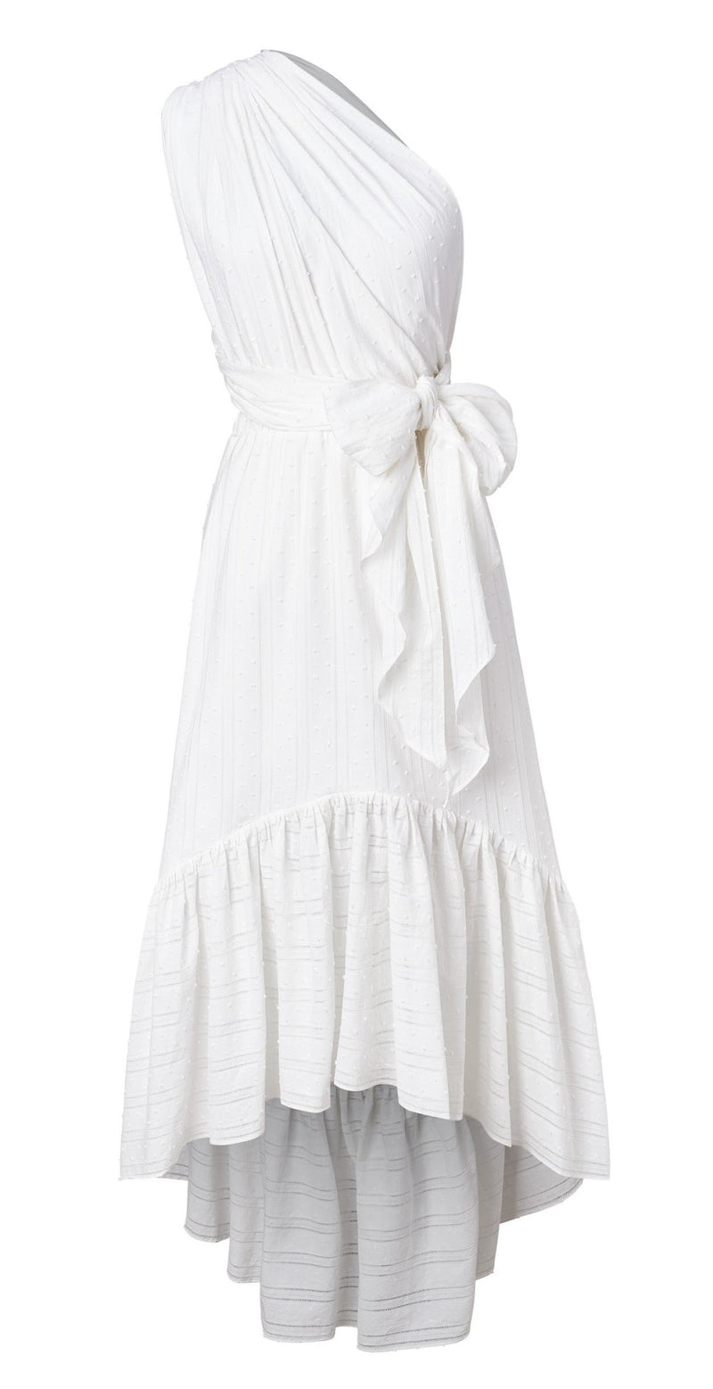 Sustainable UDA Dress - Blanc - diarrablu
