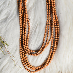 Unisex Traditional Wooden Mala
