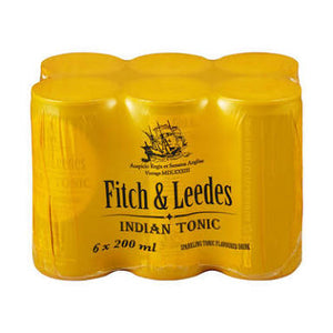 Fitch & Leeds Indian Tonic 6 x 200ml