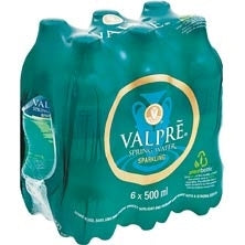 Valpre 6 Pack Sparkling Water