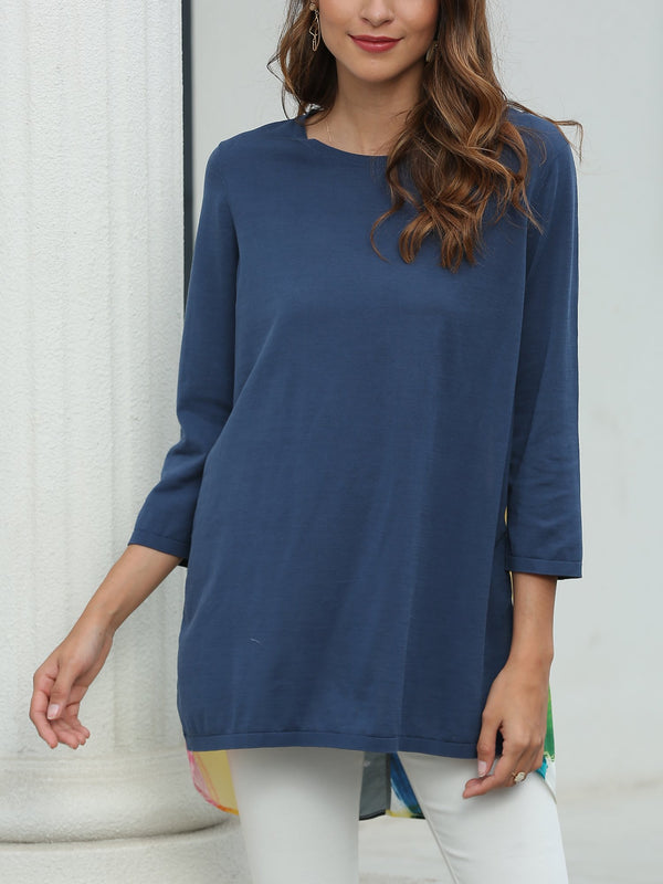 Women's silk and cotton tops