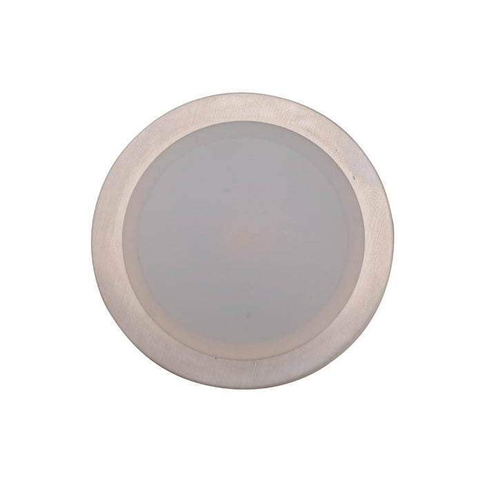 1W Round Interior 12V LED CAbinet Light 3K Warm White 50Ømm * 6mmDepth - The Lighting Shop
