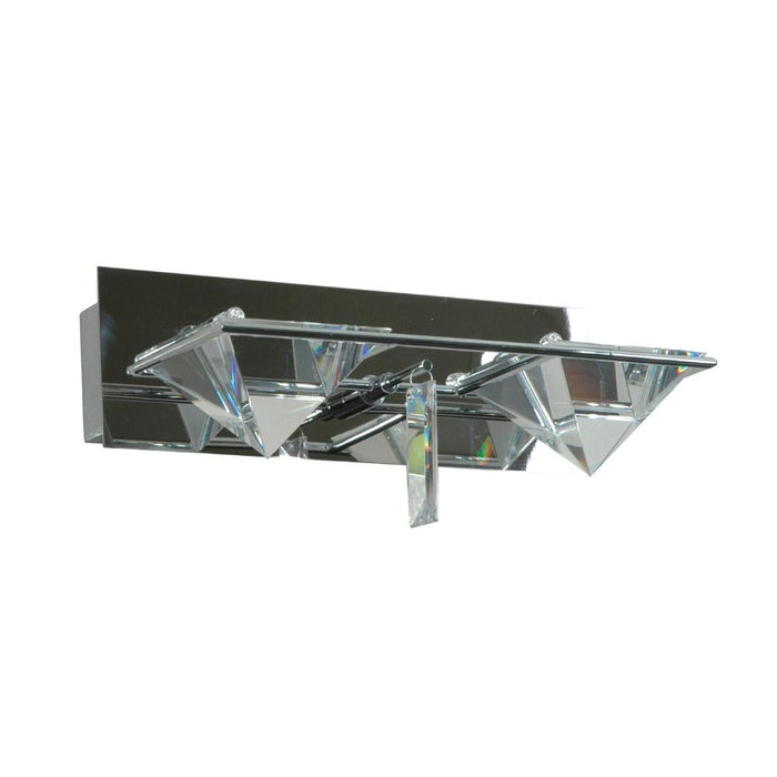 230V Interior Living Area Wall Light Jc G4 (Chrome Crystal) 250W * 100H * 150D - The Lighting Shop