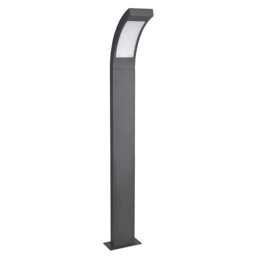 12V Exterior Aluminium 12V LED Floodlight Bollard Light IP54 (Charcoal) 600 * 85 * 25mm - The Lighting Shop