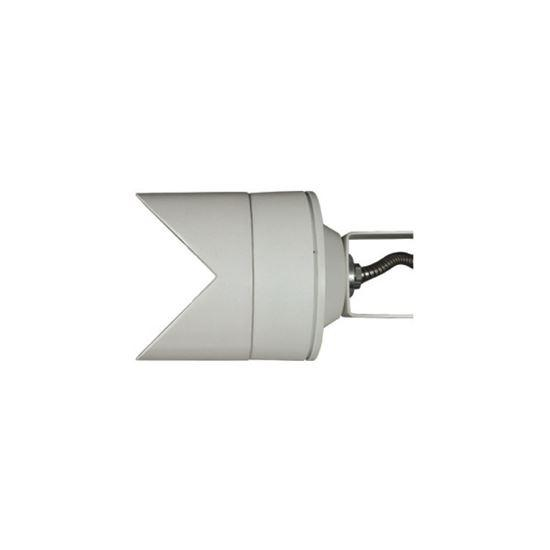 Exterior Floodlight - Arealite Extra ACcessories Angolare Corner Mounting Bracket Silver - The Lighting Shop