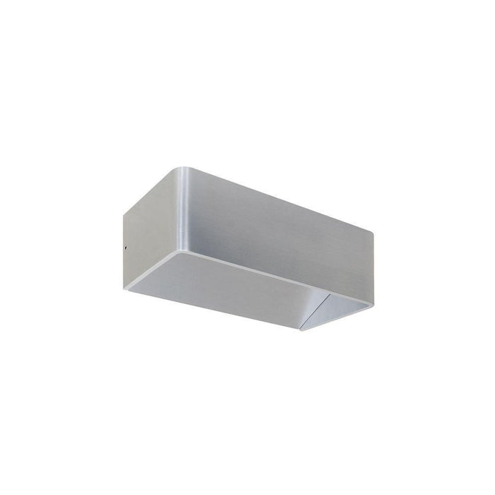 230V 230V Interior Brushed Aluminium Surface Mounted Up/Down Wall Light 70H * 200L * 100D - The Lighting Shop