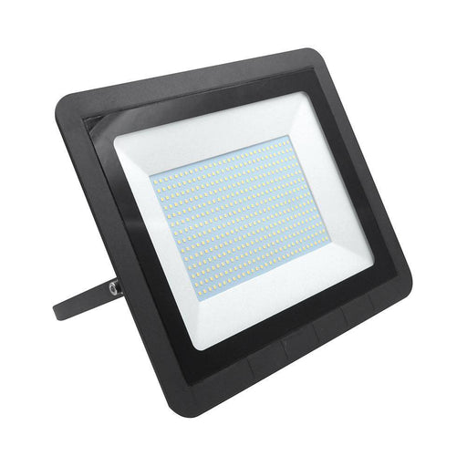 200W LED Floodlight IP65 Water Resistant 4K Natural White Black Without Sensor 380L * 280W * 43D - The Lighting Shop