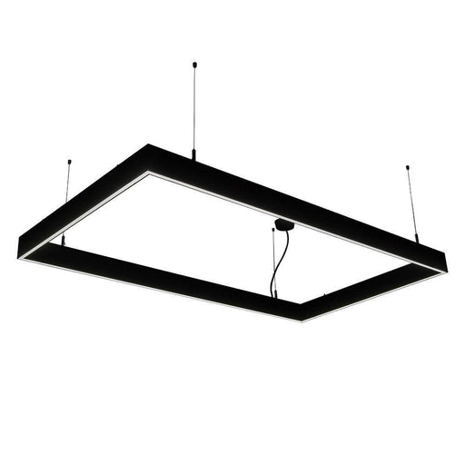 230V Office Pendant Linkable Black SPEND40 1498 * 18.5 * 80mm - The Lighting Shop