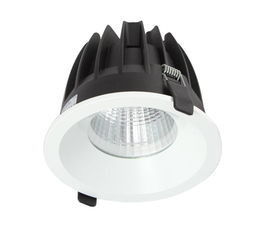 25W Large Low Glare Commercial Recessed Fixed Downlight 4000K Natural White, Cutout: 125mm - The Lighting Shop