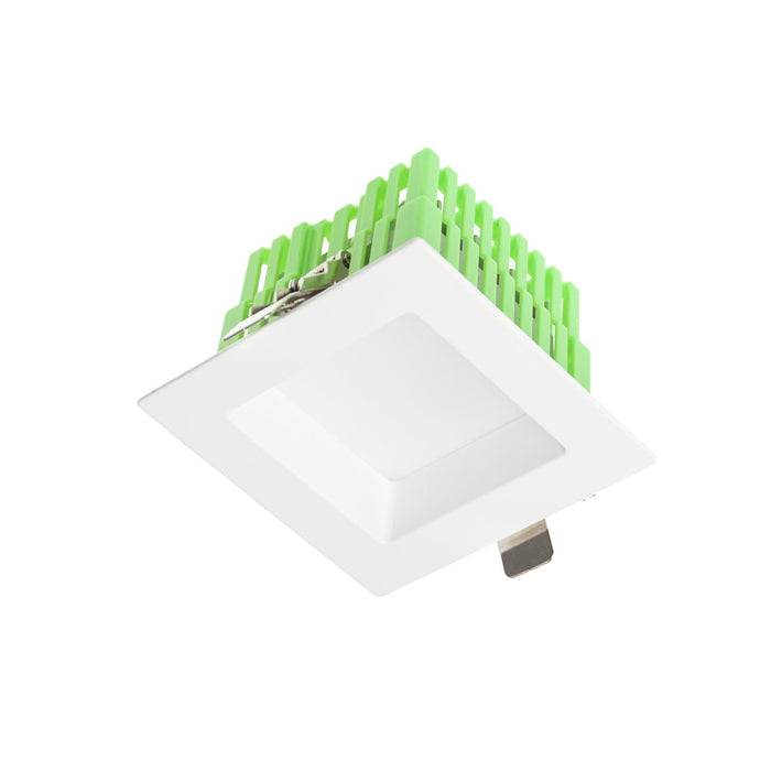 11W Square Low Glare Kit 3000K Warm White, Cutout: 115 * 115mm - WHITE - The Lighting Shop