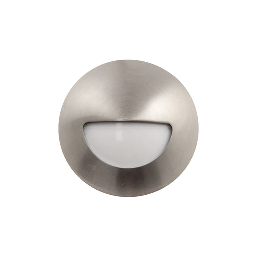 3W LED Exterior Wall Surface Mount Stainless Steel 316 2700K Warm White - The Lighting Shop