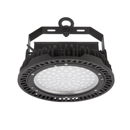 150W LED Mid Or High Bay Natural White 4K Black DIA: 320mm - The Lighting Shop