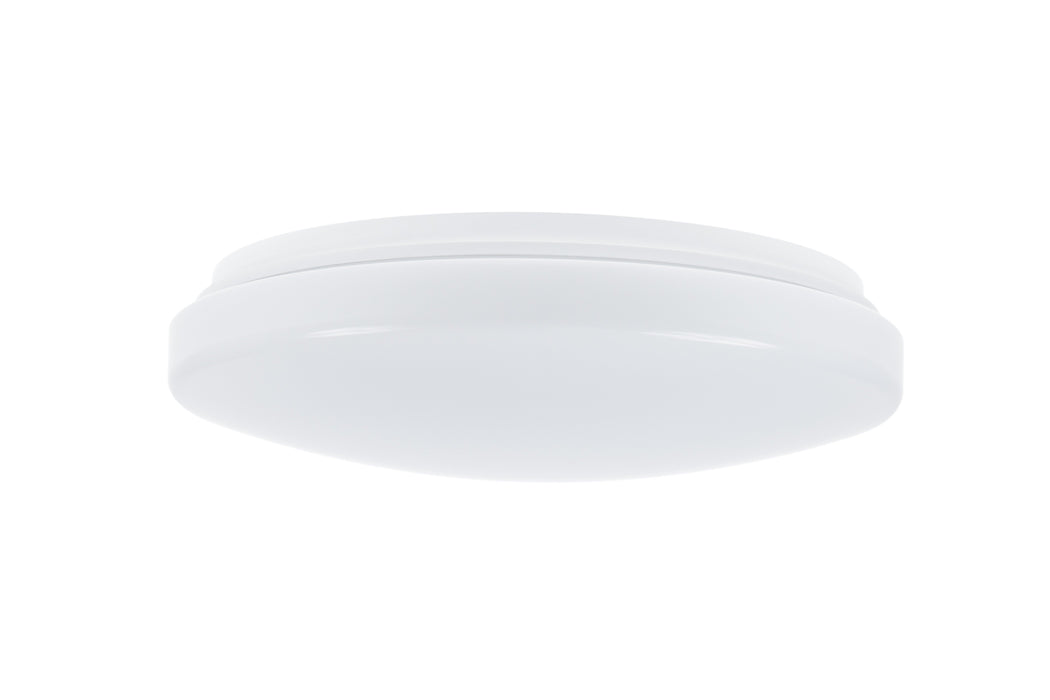 22W Medium Button IP54 Warm White 3K White DIA:356mm - The Lighting Shop
