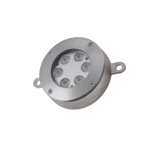 13W 3000K WARM WHITE Exterior Underwater Surface Mount Spot 25° IP68 - STAINLESS STEEL - The Lighting Shop