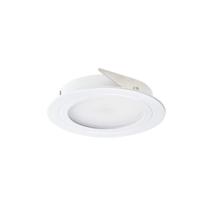 2W DISPLAY 12V NON-DIMMABLE 4000K Natural White DIA: 70mm - WHITE - The Lighting Shop