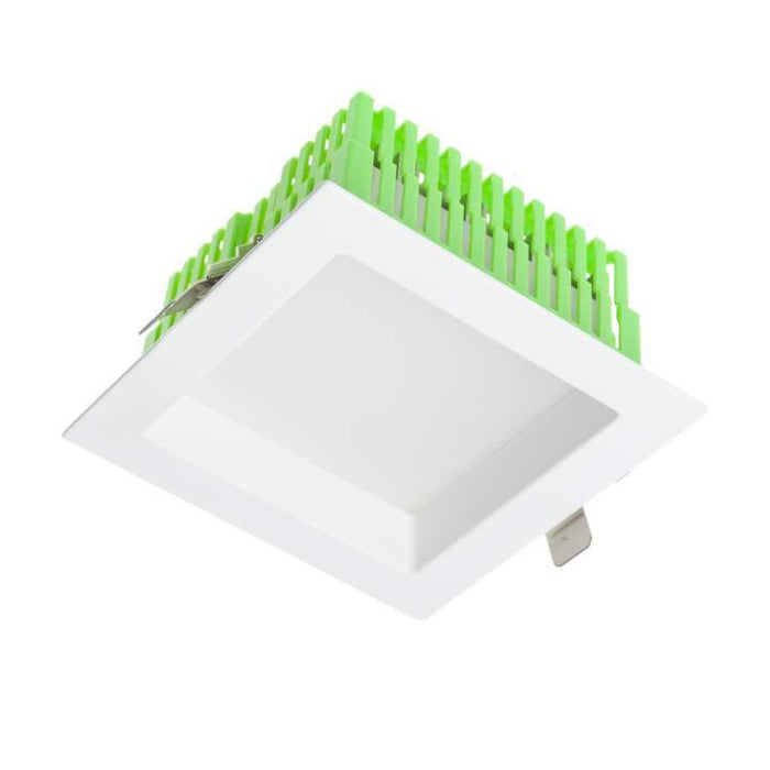 17.5W Square Low Glare Kit 3000K Warm White, Cutout: 125 * 125mm - WHITE - The Lighting Shop