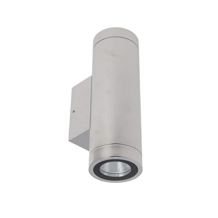 Mariner Ii Column Spot Double - Stainless Steel 240V Dimmable Warm White L187 X W47 X D89mm - The Lighting Shop