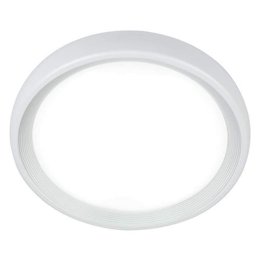 18W LED Exterior Ceiling Button Range White 3000K Warm White D310 * H74mm - The Lighting Shop