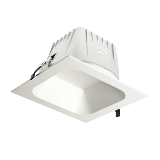 Square Low Glare Xl 3000K Warm White, Cutout:200mm - WHITE - The Lighting Shop
