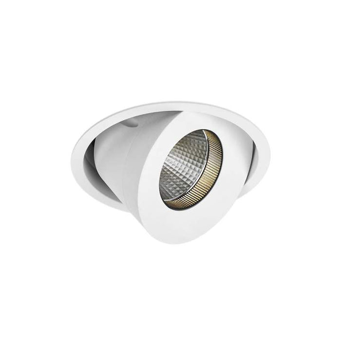 20W Cevon Large Tilt Rotate X-Low Glare 3000K Warm White, DIA: 124mm - WHITE - The Lighting Shop
