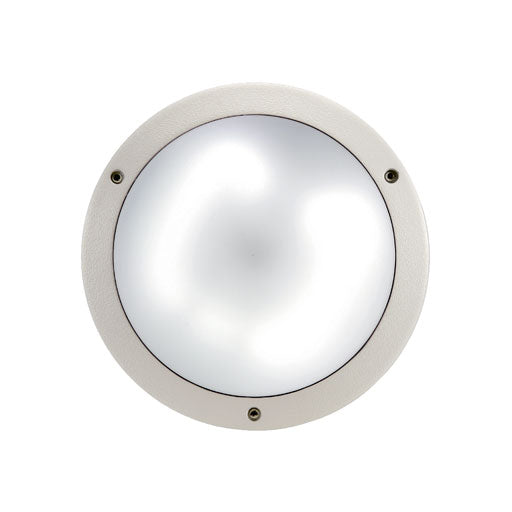 MOON LED CEILING/WALL LIGHT IP65 12W 240V 0.8kg - The Lighting Shop